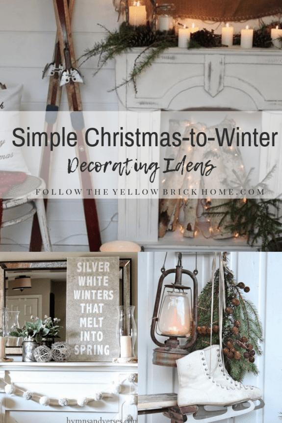 After Christmas Decorating Ideas Winter Decor Cozy winter home decor
