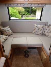 5 reasons to downsize your RV dinette table | Follow Toto