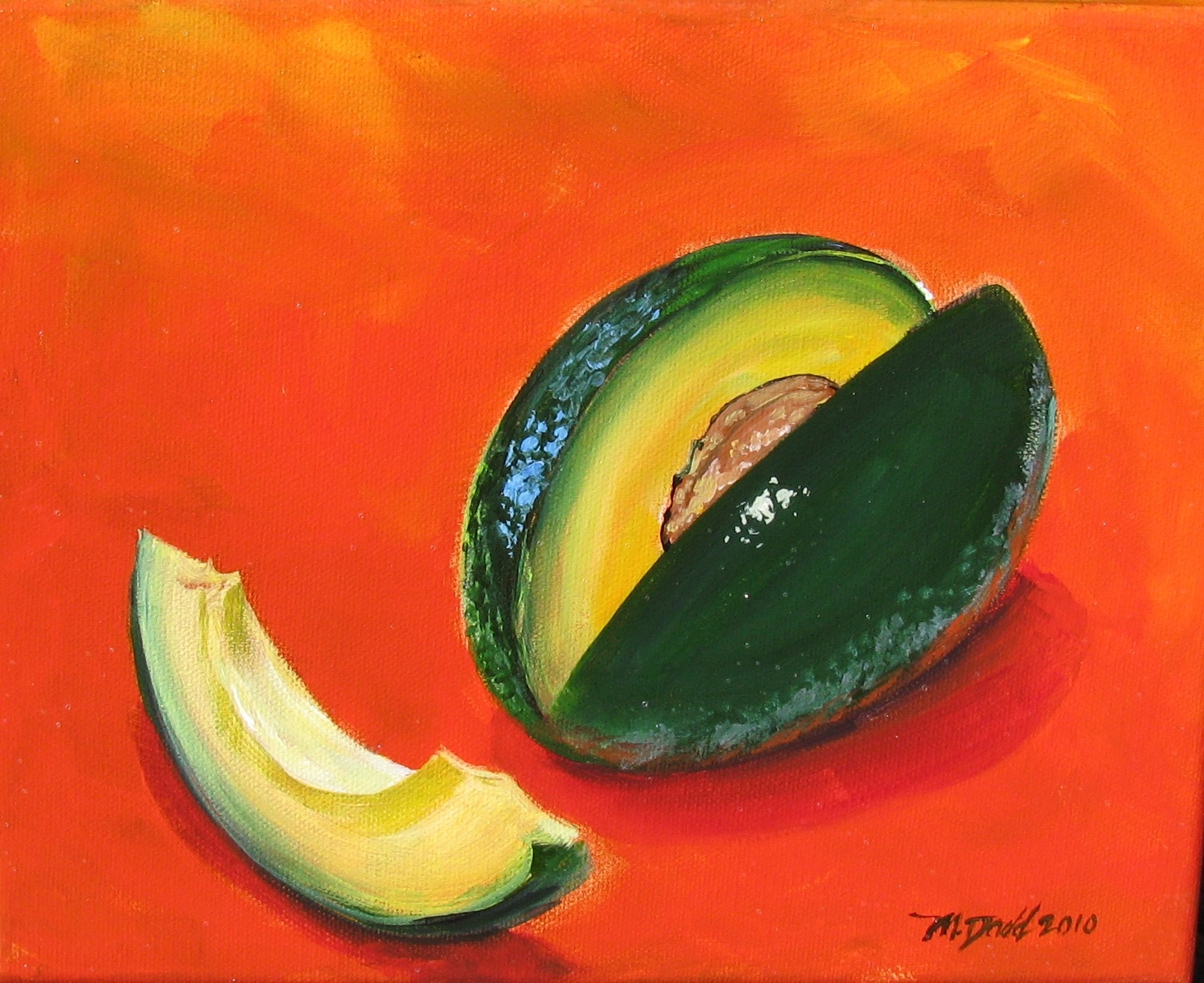 """Avocado on Cinnamon"" – Still Life Prints"