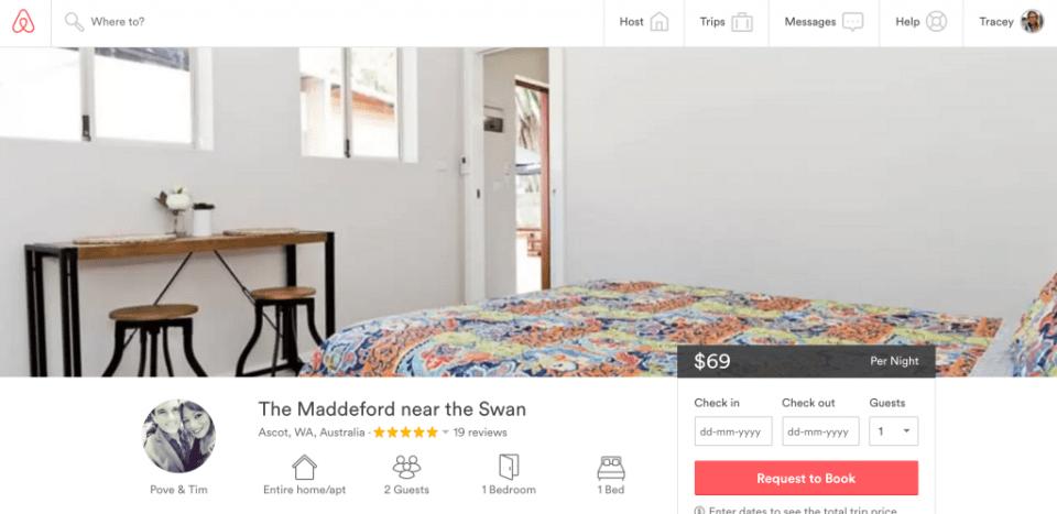 Airbnb_AscotPerth