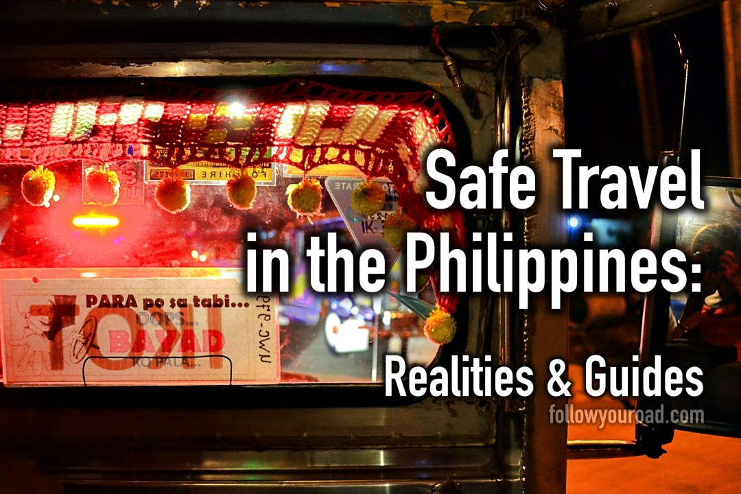 safe travel in the philippines