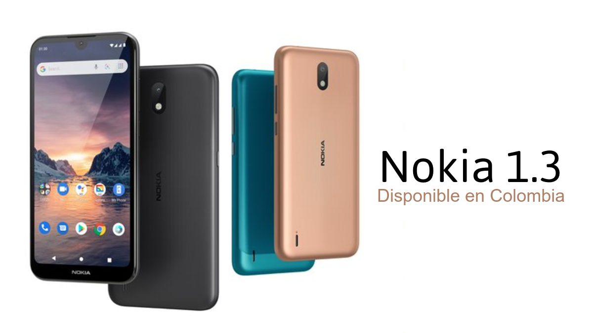 Nokia 1.3 Colombia