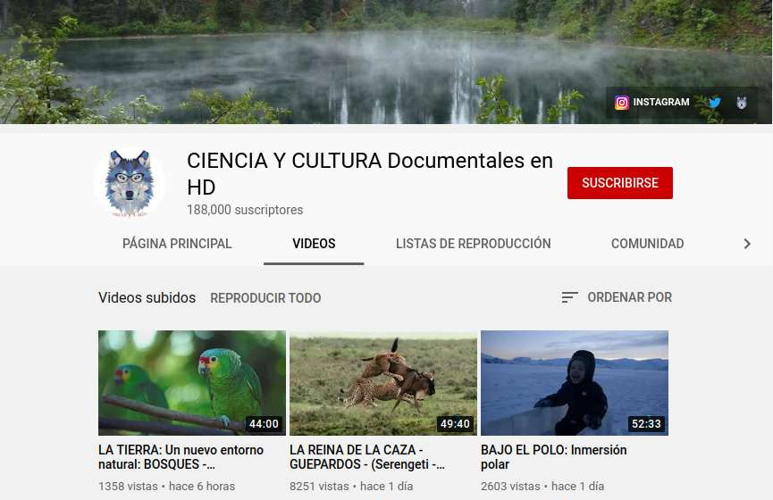 CIENCIA Y CULTURA Documentales en HD