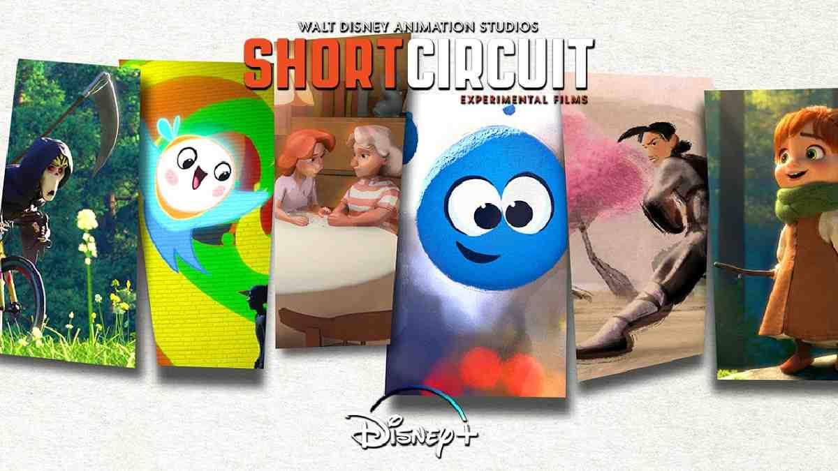 Disney cortometrajes