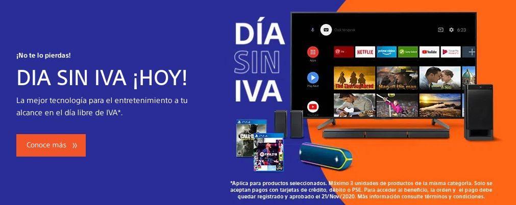 tienda de Sony Colombia