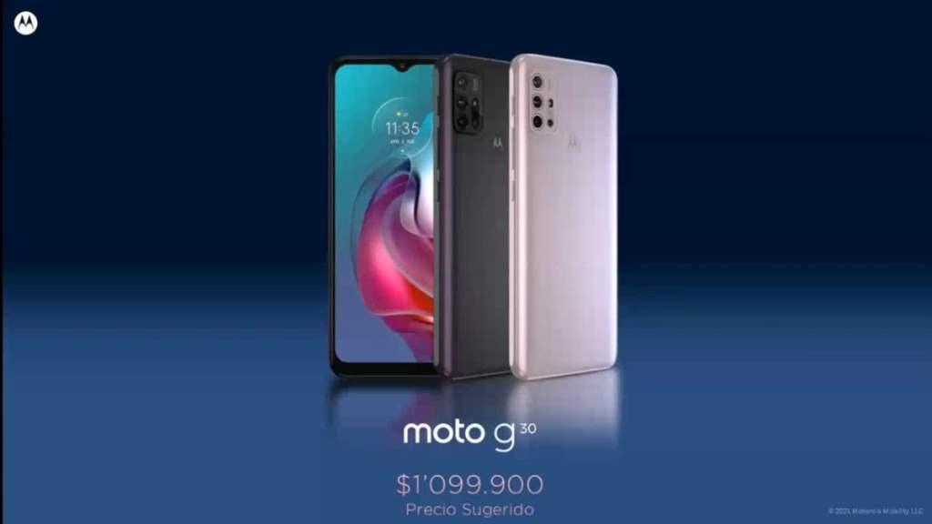 Moto G30 precio