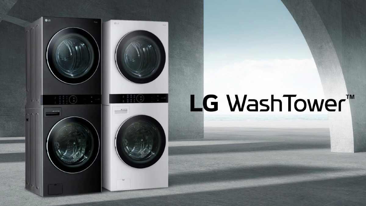 LG Wash Tower