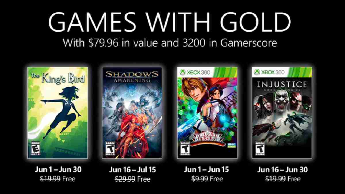 games with gold junio 2021