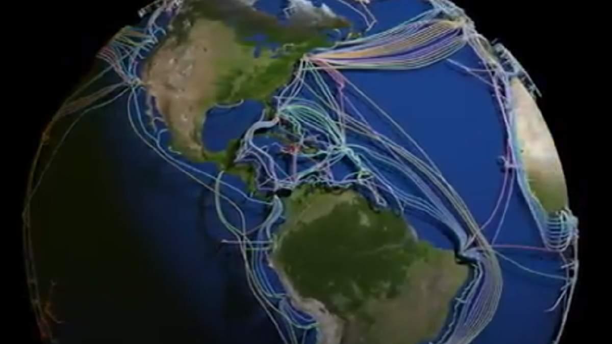 Cables submarinos del mundo