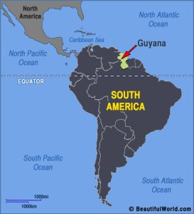 guyana-south-america-map