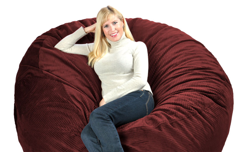 lovesac sofa covers 2 seater power recliner fabric huge bean bags filled with love and foam