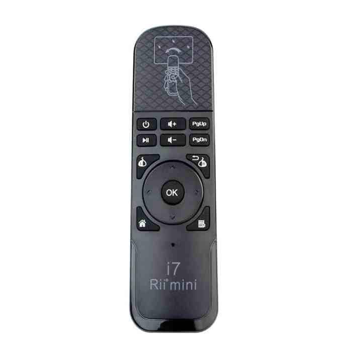 Rii i7 Air Mouse Remote with Built-In 6 Axis