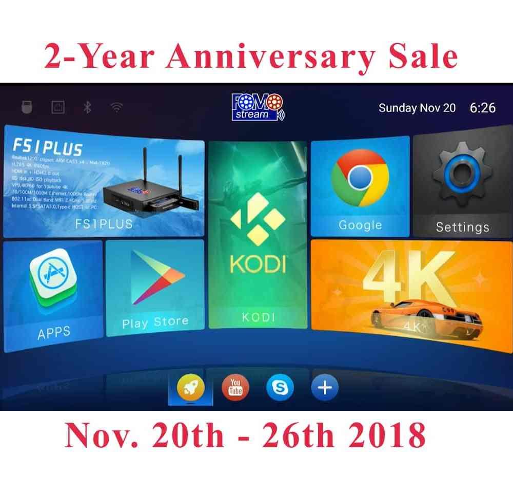 FOMOstream® 2-Year Anniversary