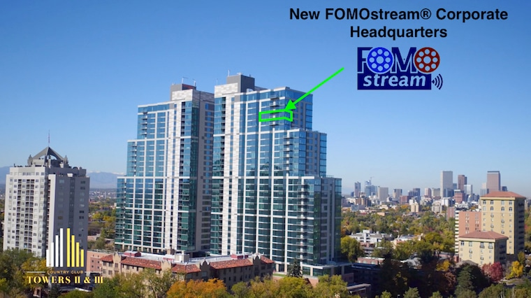 New FOMOstream® Corporate Office Headquarters