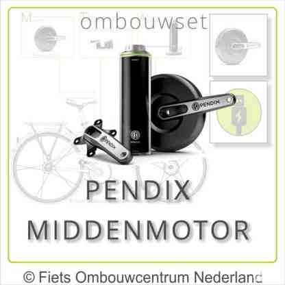 Ombouwset met Pendix eDrive Middenmotor Pendix