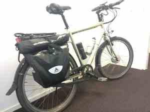 Santos Traveller met Bafang voorwielmotor ombouwset FON Arnhem