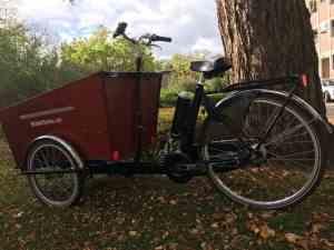 Bakfiets.nl Cargo Trike ombouwen tot ebike met Pendix eDrive 0350
