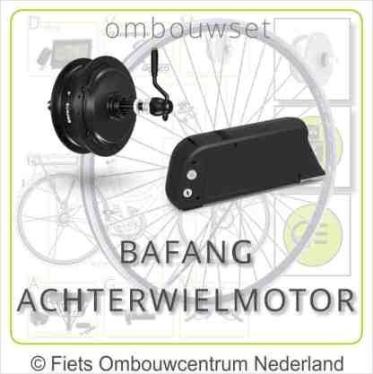 Ombouwset met Bafang Achterwielmotor Frameaccu Bafang overzicht 01