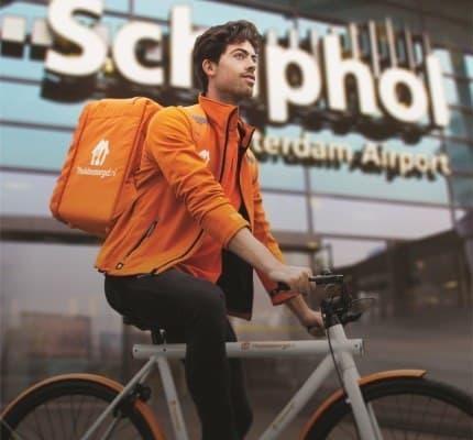 Thuisbezorgd.nl kiest e-bikes met Pendix eDrive Middenmotor Fiets Ombouwcentrum Nederland