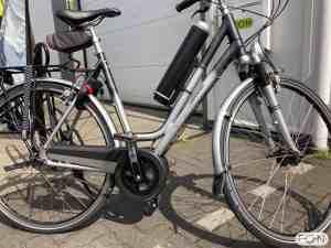 Koga Expression elektrisch maken met Pendix eDrive Middenmotor FON Arnhem 1263