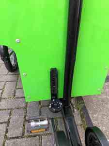 Workcycles De Redding bakfiets elektrisch maken met Pendix eDrive Middenmotor FON Arnhem 1873
