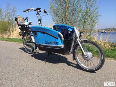 Gazelle Cabby elektrisch ombouwen met Bafang Voorwielmotor FON