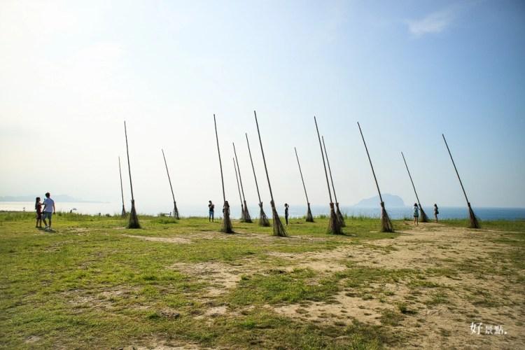 基隆中正景點「八斗子潮境公園」巨大飛天掃帚、無敵海景、親子旅遊散心好去處