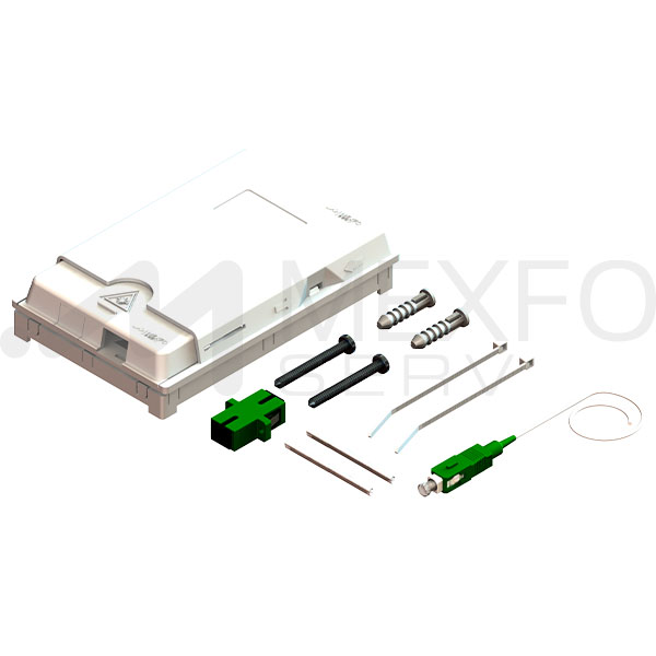 2-Port-Fiber-Optic-Terminal-Box-Kit