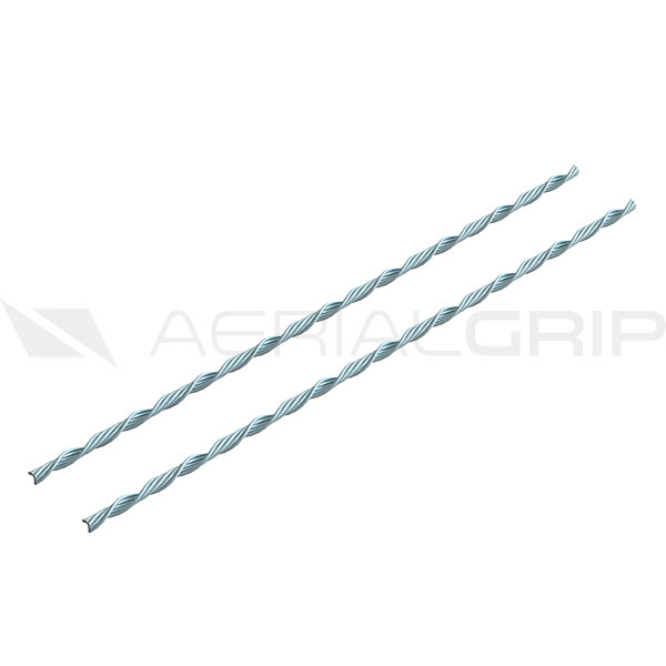 Dead End Splice for Messenger Cable Steel