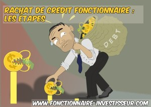 quelles sont les démarches pour un rachat de credit fonctionnaires