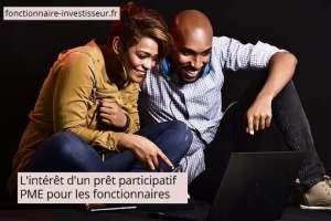 prêt participatif PME intérêt pour fonctionnaires