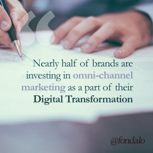 Digital Transformation using omni-channel marketing