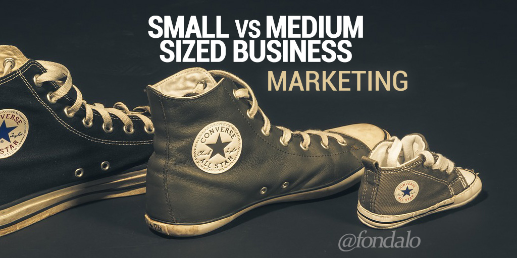 Small vs Medium Sized Business Marketing