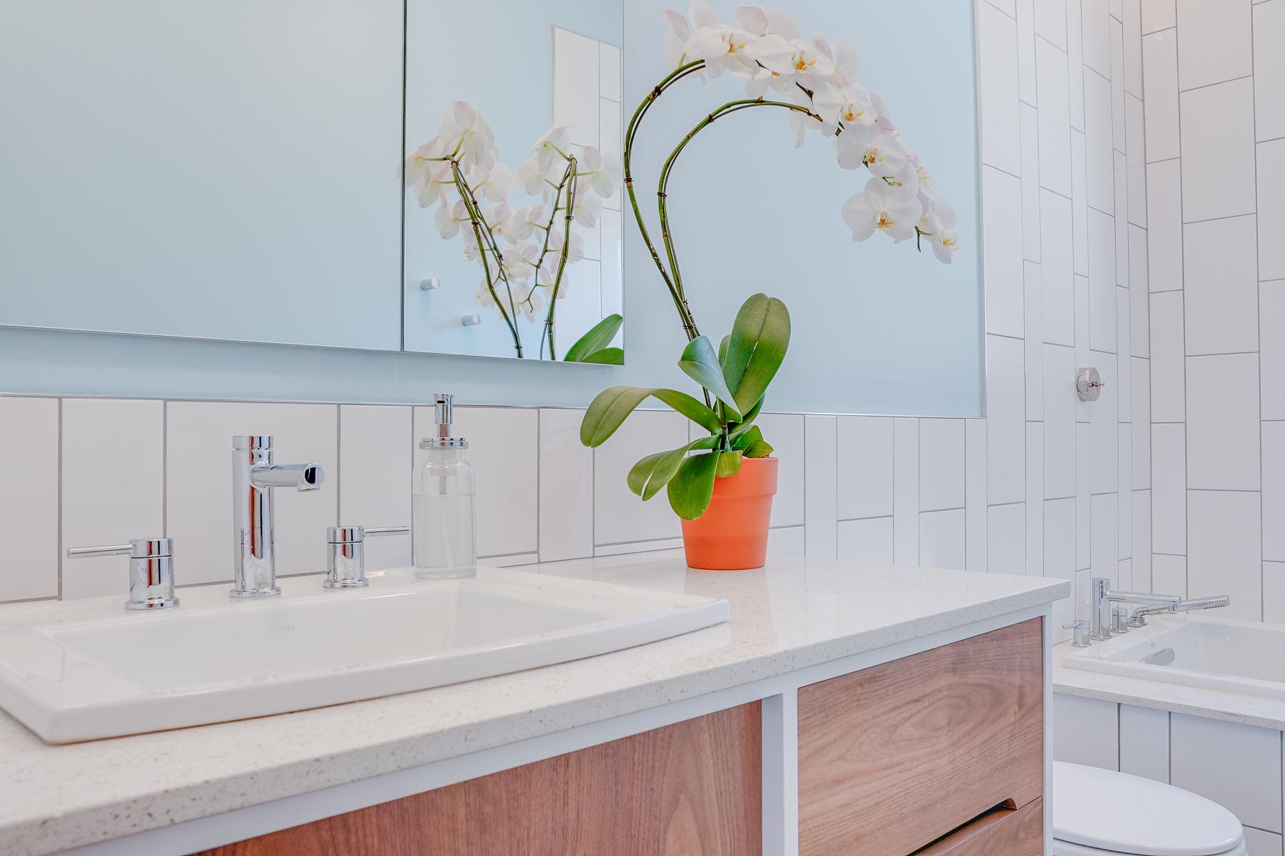 Kovalsky Bathroom Remodel - Fondare Finish Construction