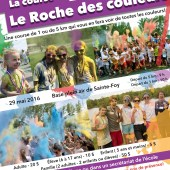La course Le Roche des couleurs