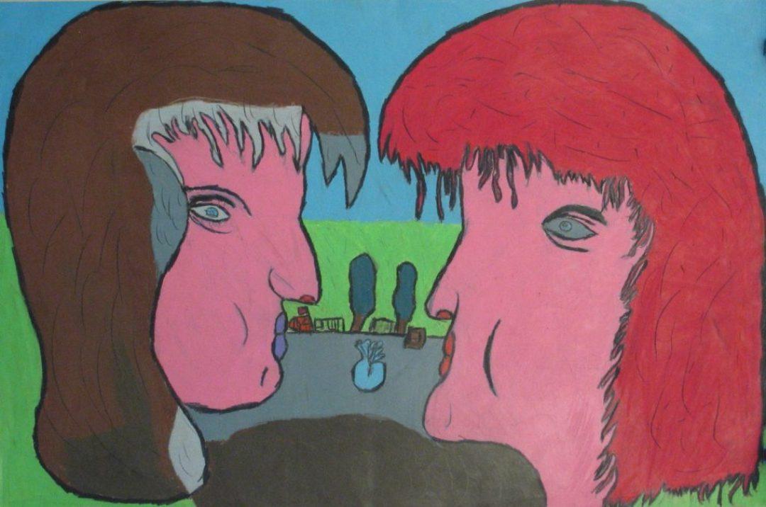 Jean-Jacques Bonnier, Sans titre, nd, pastel gras sur papier, 55 x 73 cm