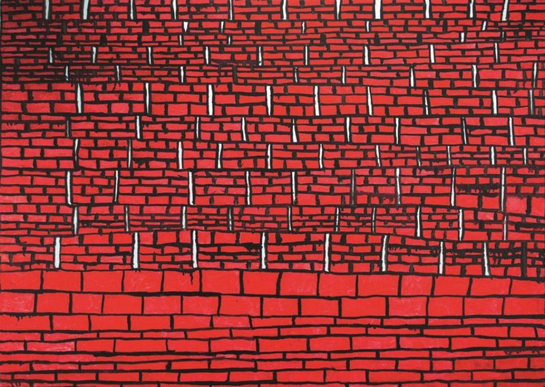 Louis Van Baelens, sans titre, 2014, peinture à l'huile sur toile, 70 x 100cm