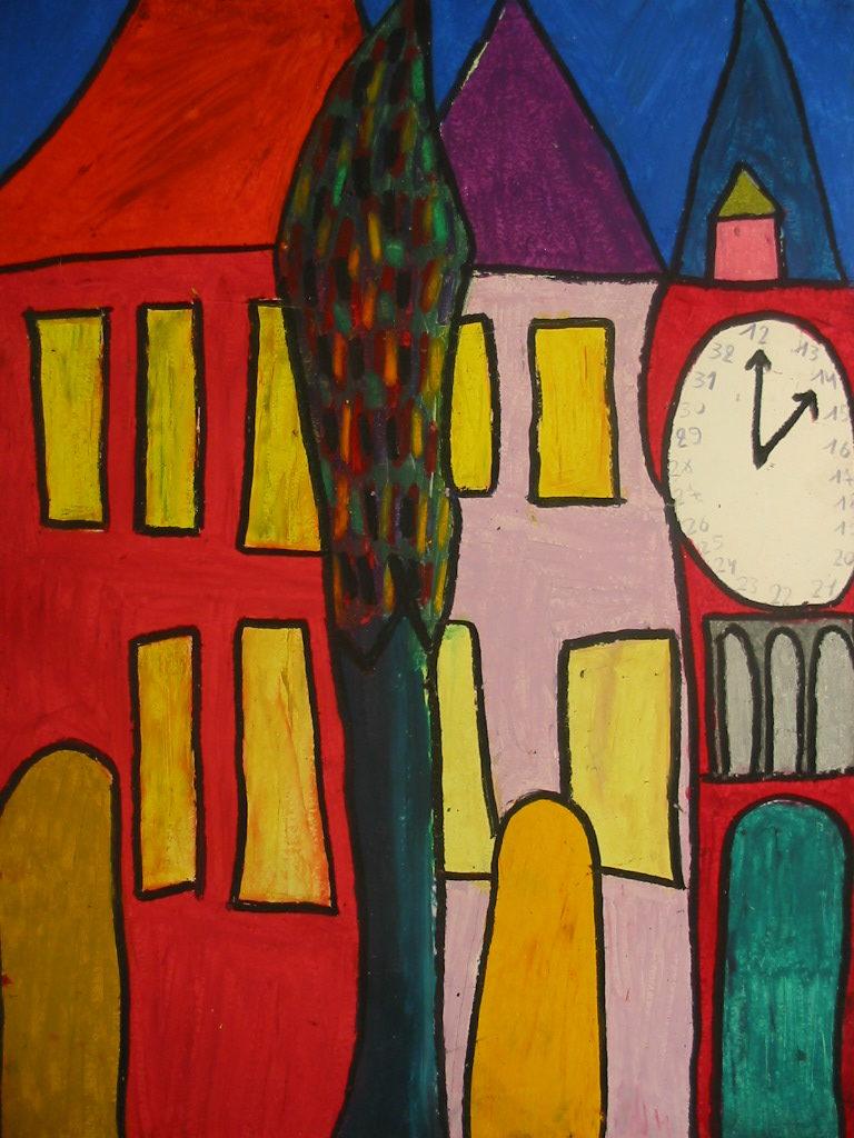 Michel Beauthier, sans titre, 1995, pastel à l'huile, 73 x 55cm