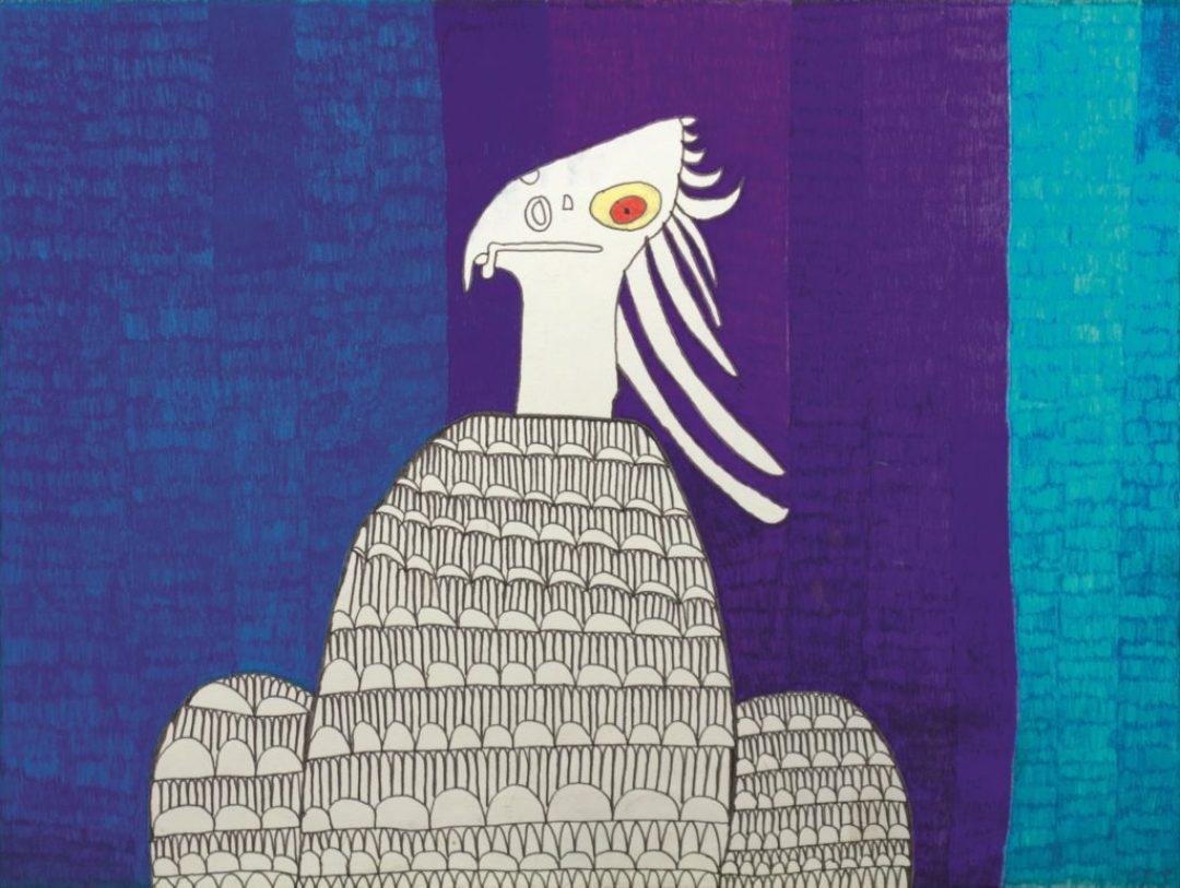 Georges Cauchy, Sans titre, 2011, marqueur sur papier, 55 x 73 cm