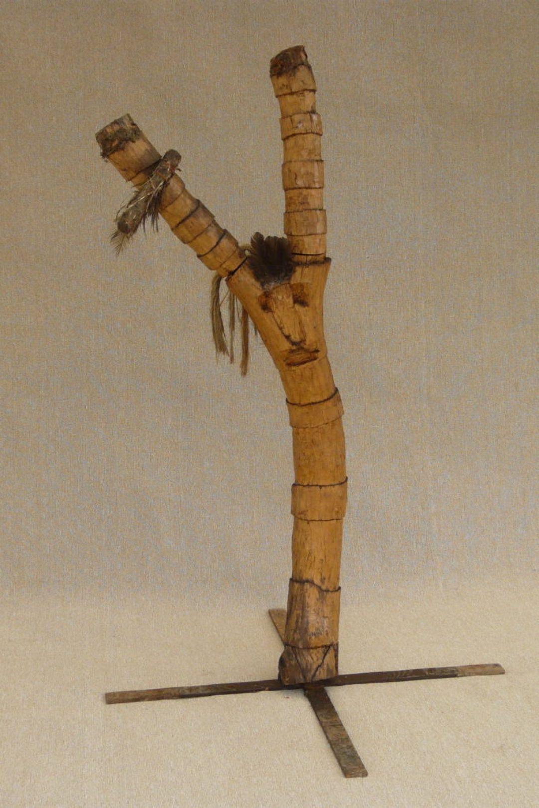 Jean-Marie Heyligen, Indien, sculptures sur bois (photo Prodia)