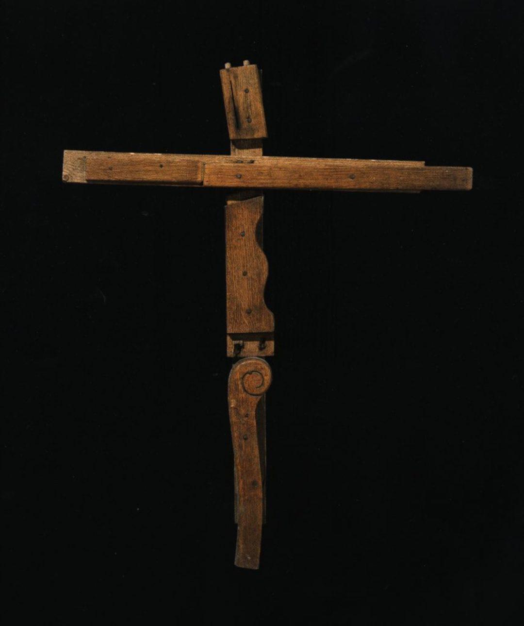 Jean-Pol Godart, sans titre, entre 1994 et 2004, bois et métal (photo Prodia)