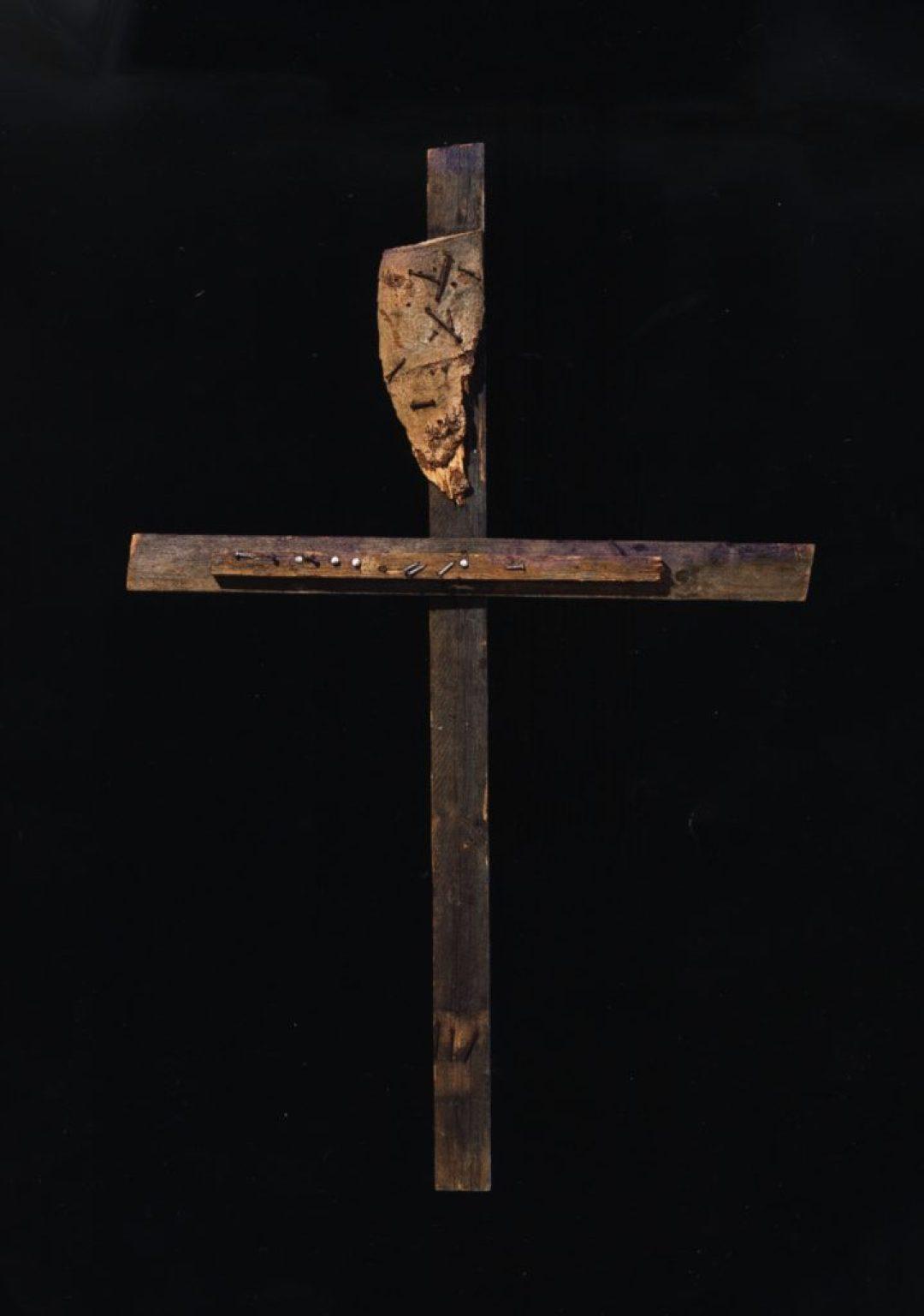 Jean-Pol Godart, sans titre, entre 1994 et 2004, bois et métal, 142 x 91 cm (photo Prodia)