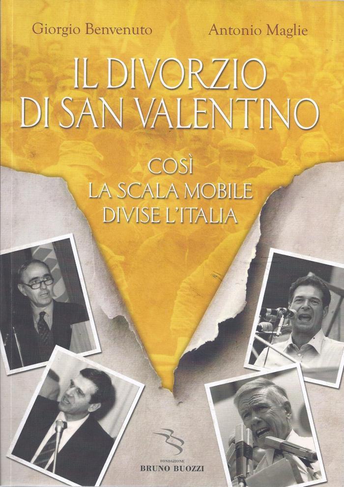 libro Il divorzio di san valentino