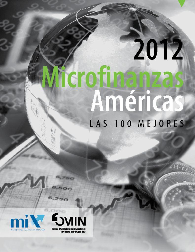 thumbnail of Microfinanzas Américas 2012