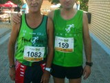 Tres atletes al Vendrell, mitja i 10k