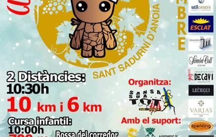 Nova cursa a Sant Sadurní, la cursa de Nadal