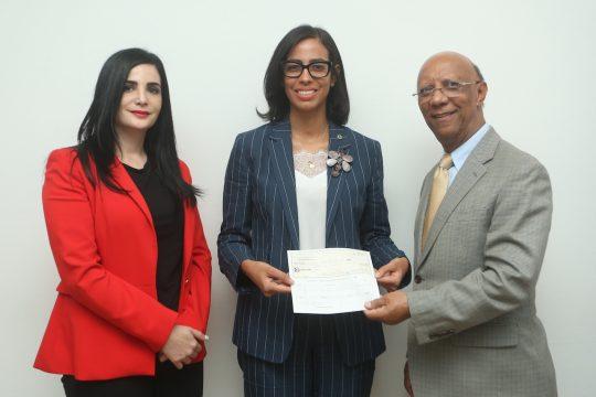 Firma de Convenio y entrega de cheques Fondo Agua Yaque 3