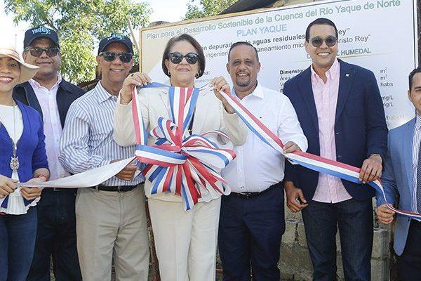 Inauguran planta de tratamiento de aguas residuales tipo Humedal