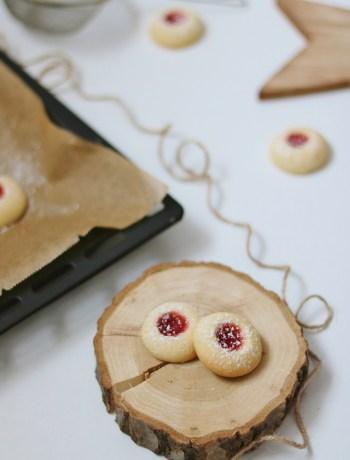 Vegan Thumbprint Cookies Recipe