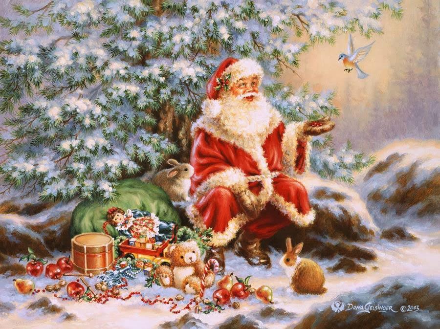 Postales De Navidad Antiguas Fondos De Pantalla Y Mucho Más